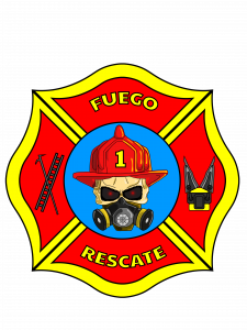 Fuego Rescate Cross